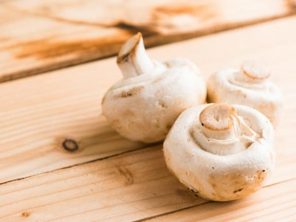 Tagliatelle met champignons en garnalen