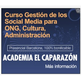 Curso de Dolors Reig en Barcelona – Social media Administraciones, ONG, Sector Cultural.
