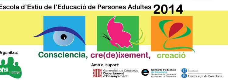 Escola d'Estiu d'Educació de Persones Adultes 2014