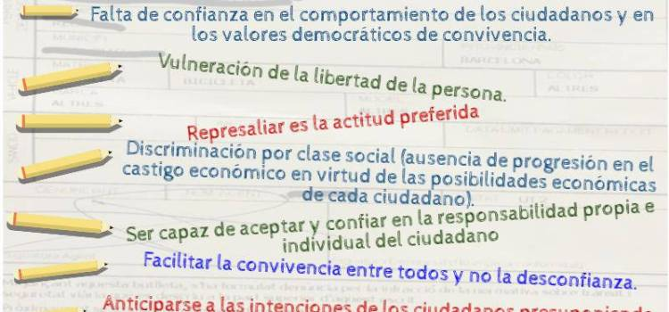 Las multas Minority Report son fallos del Sistema Educativo, o no