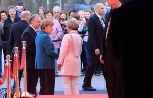 Personenschutz Angela Merkel