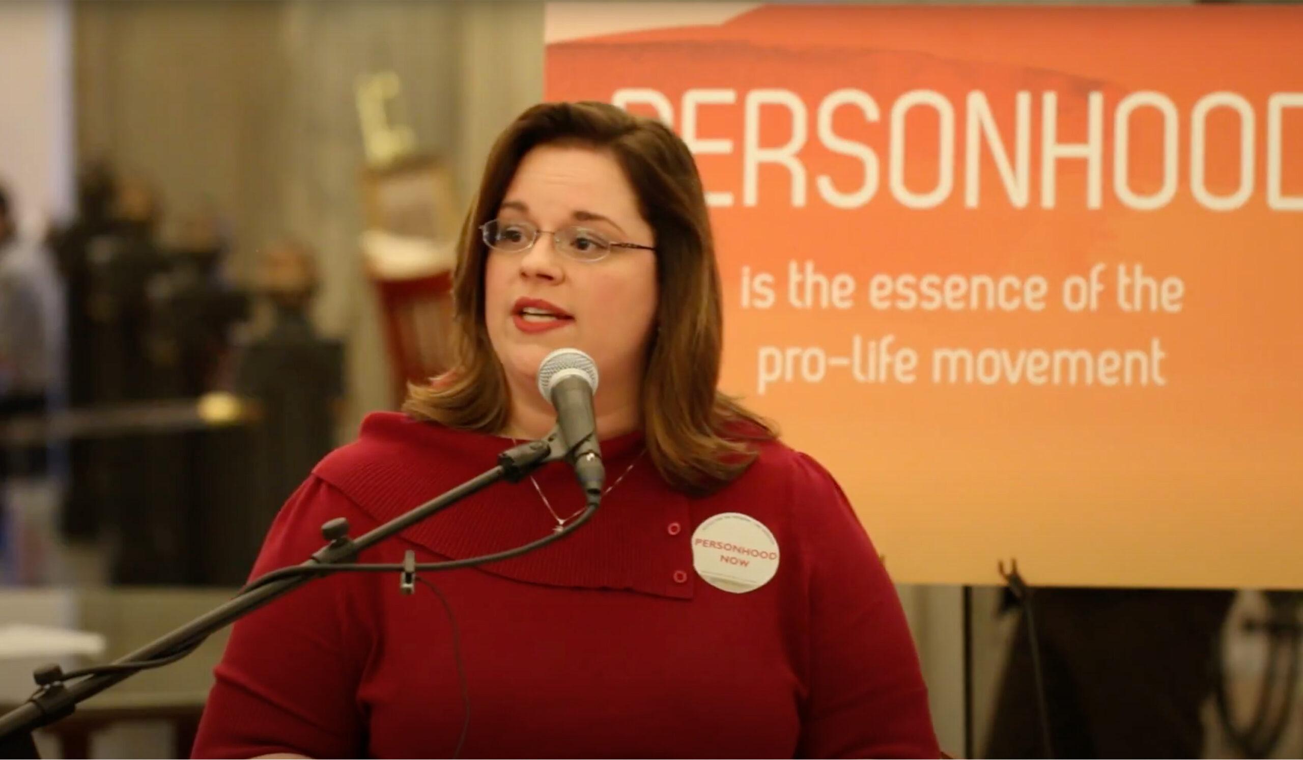 Personhood South Carolina Spokeswoman Ashley Lawton