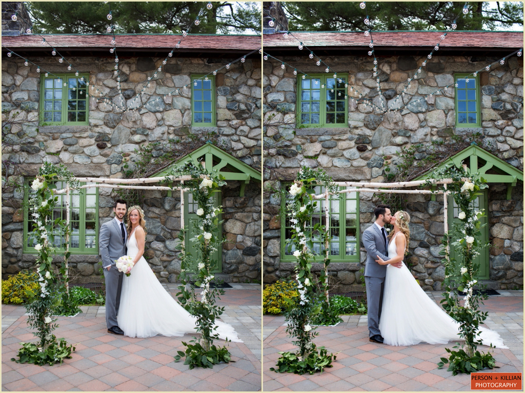 New England Tented Wedding at Willowdale Estate