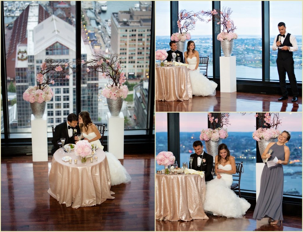 State Room Boston Summer Wedding with Longwood Events