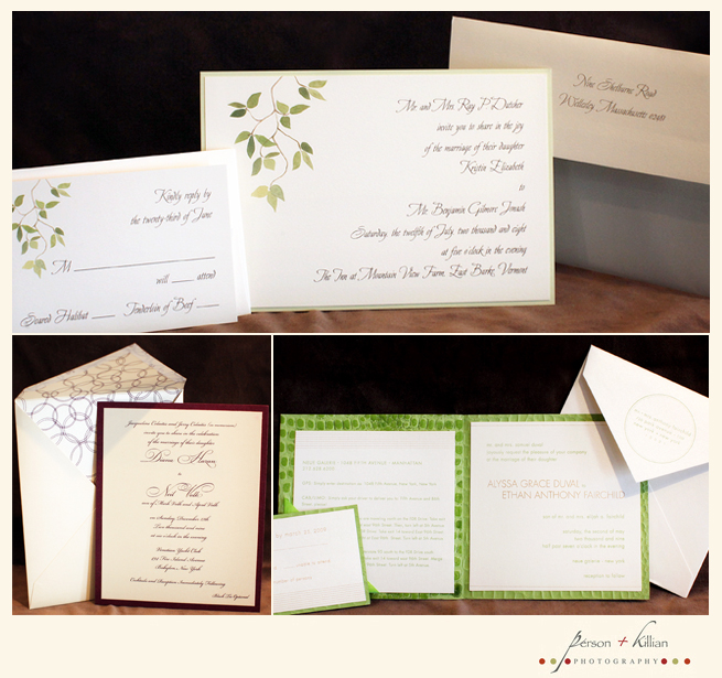 Wedding Invitations From Yours Truly Mara Person Killian