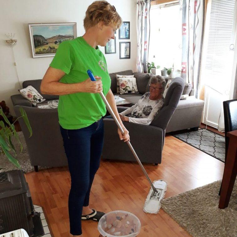 Vask av gulv