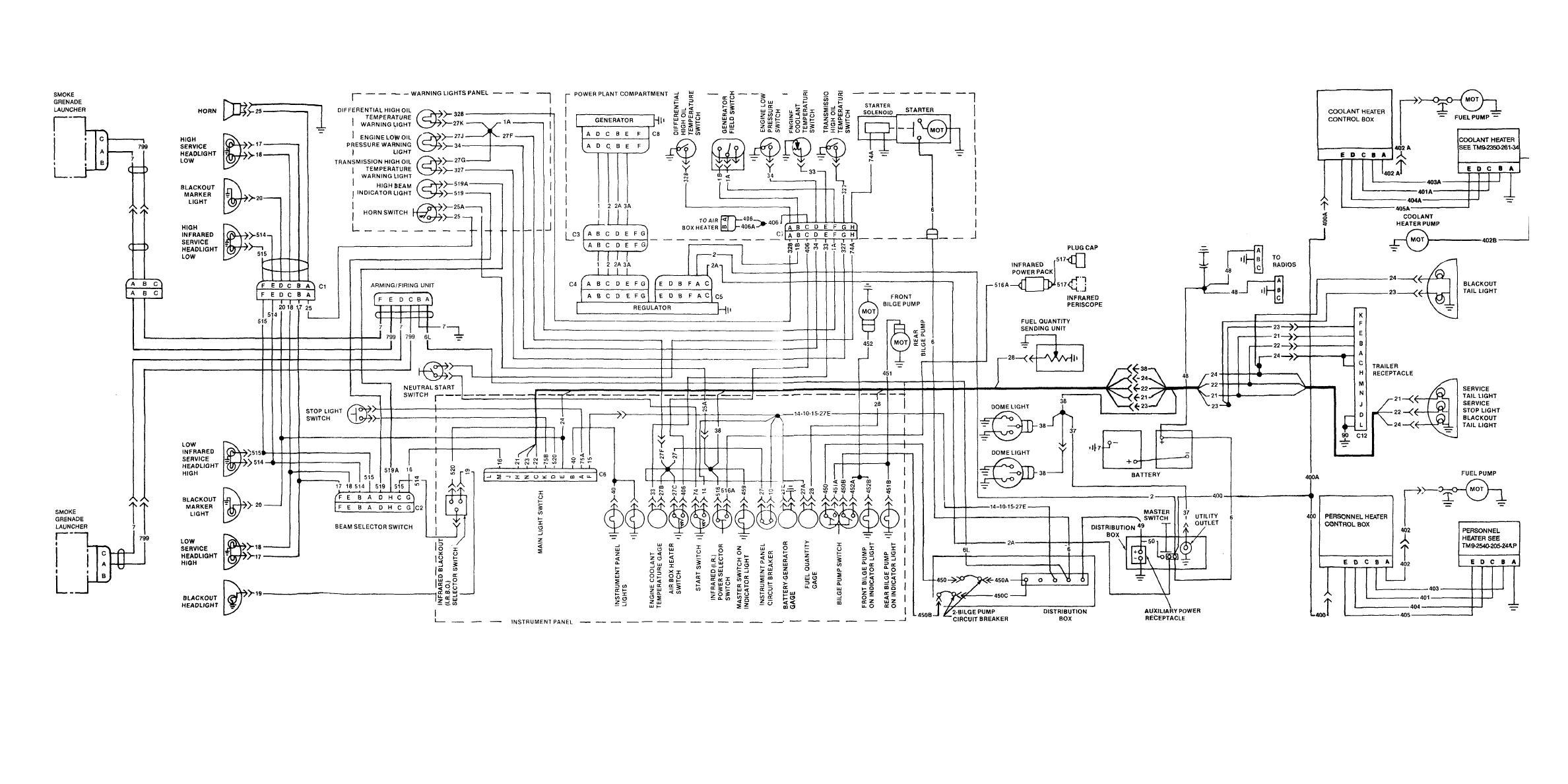 carrier 30ra 200 wiring diagram criminal procedure m113a2 electrical amp generator