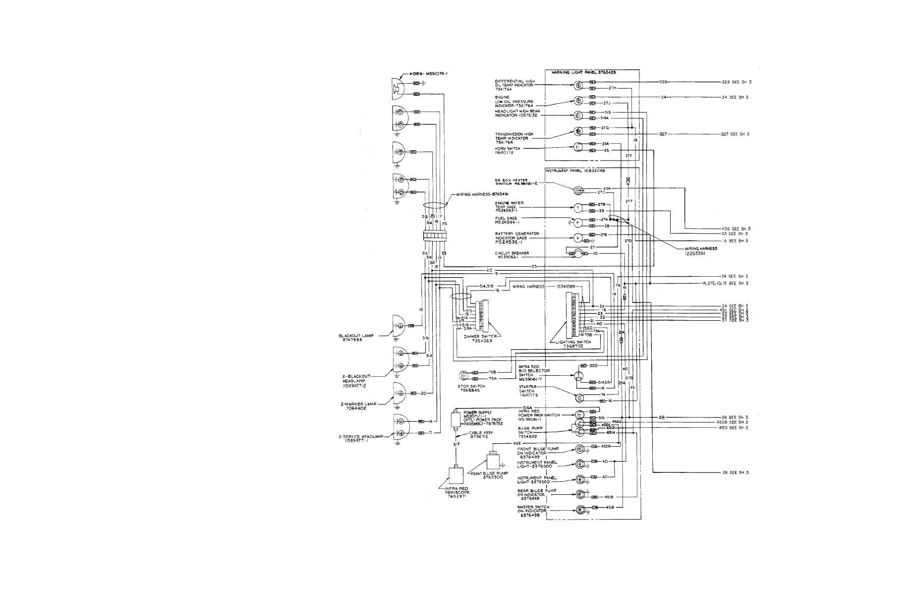 m1068 electrical wiring diagram sheet 4 of 4