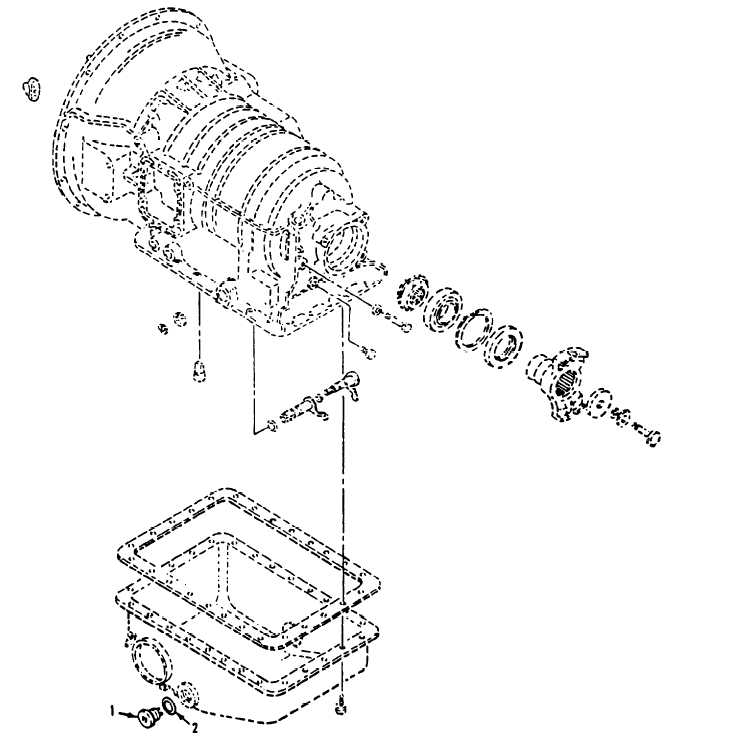 Figure 156. Oil Pan and Output Flange