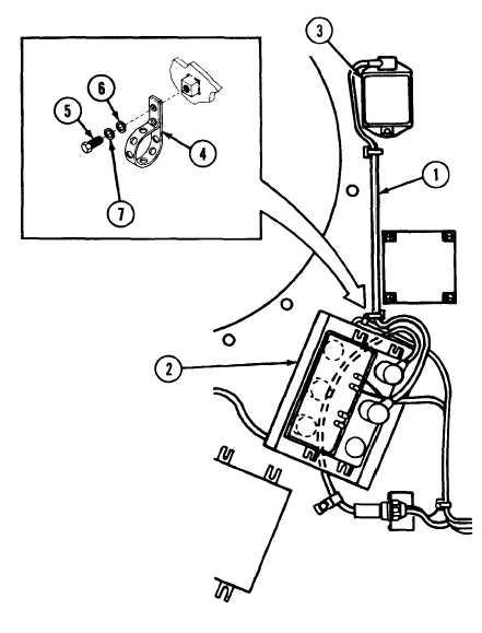 INTERCOM CABLE CX4723/VRC 4 FT