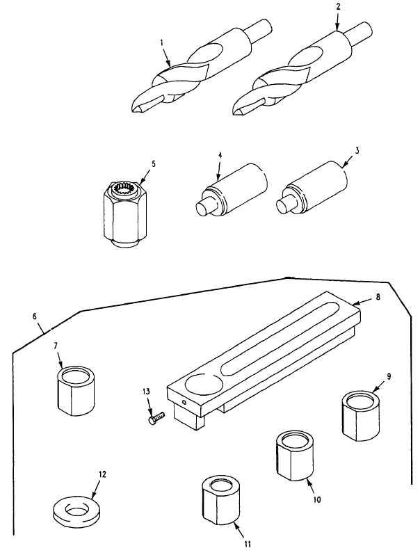 Figure 454. General Support Tool Kit, Thread Installer