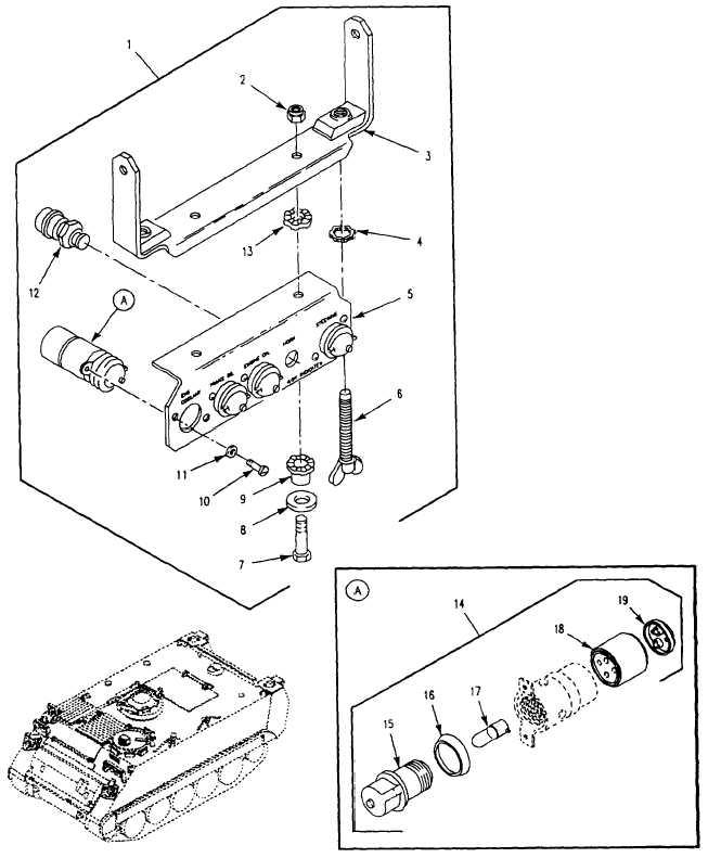 Figure 70. Warning Light Panel Assembly