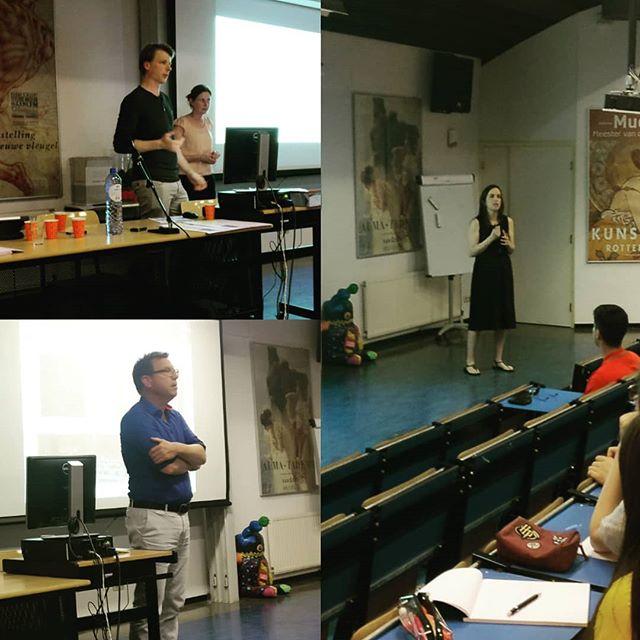Derde dag lezingen op het @drknippenbergcollege #Knip #school #onderwijs