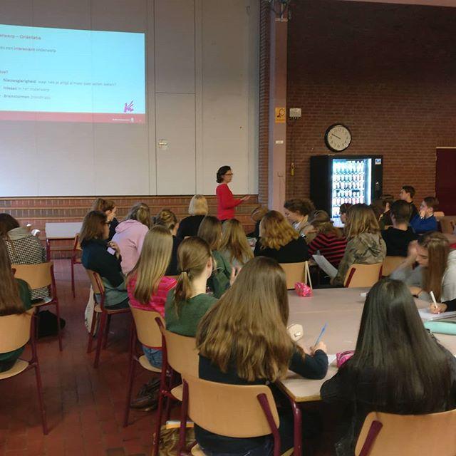 Lezing door Gudrun Reijnierse via @radboudpuc #Knip #school #onderwijs