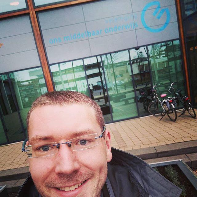 Vanochtend de RvB van @Vereniging_omo bijgepraat over het project BlockChange #blockchain #onderwijs