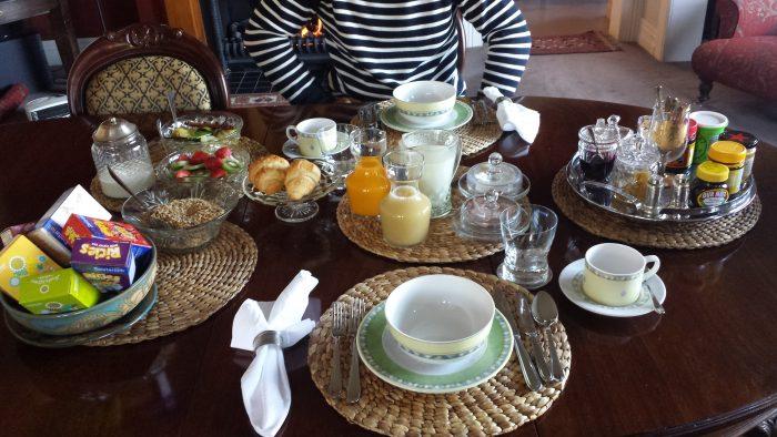 la cucina della Nuova Zelanda: super colazione a Napier