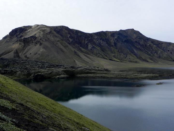 L'arrivo a Landmannalaugar