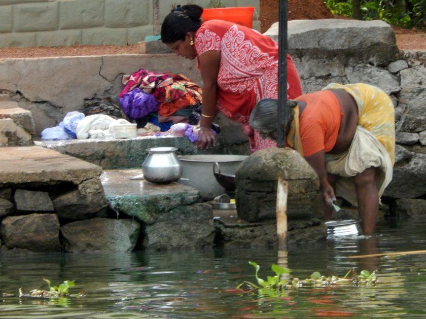 Le backwaters del Kerala