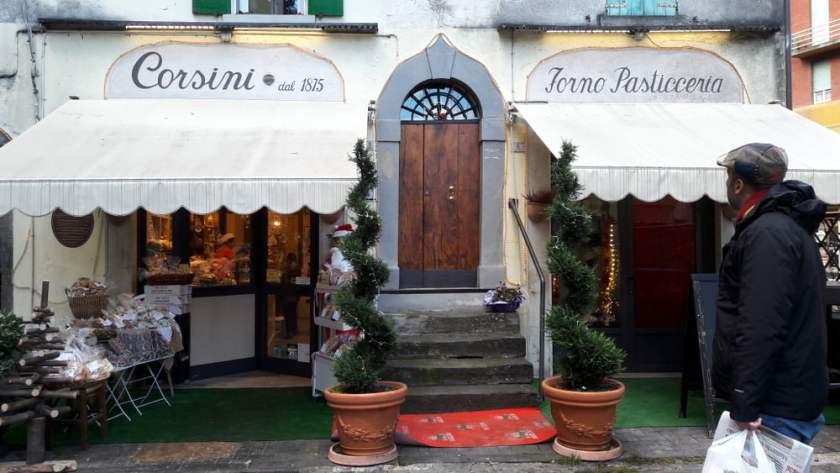 Il forno Corsini, in attività dal 1875