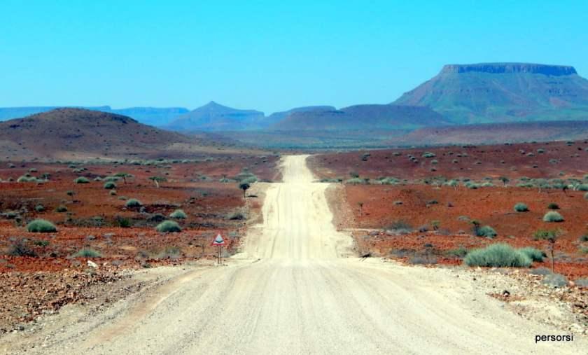 Viaggio in Namibia: le strade