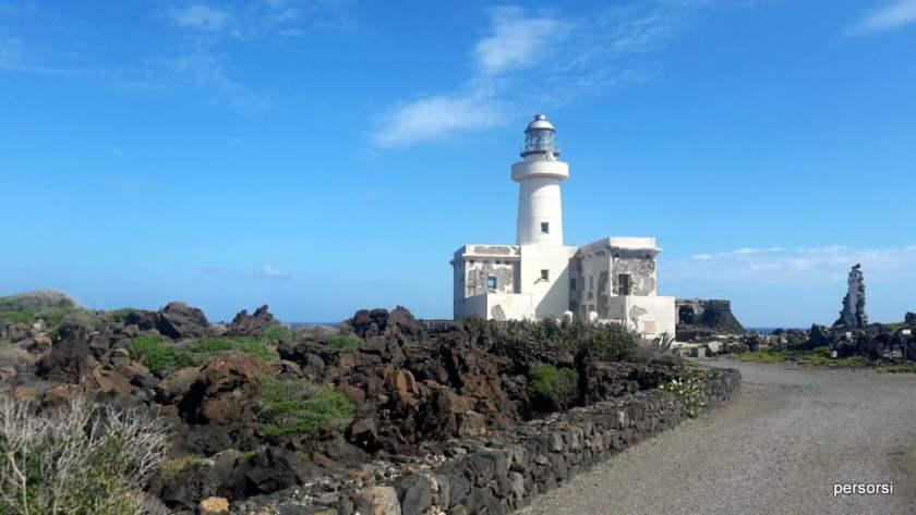Punta Spadillo e il cielo di Pantelleria a settembre