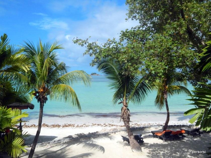 La vista dalla camera al Paradise Sun Hotel