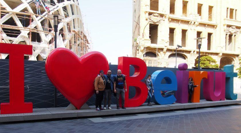 Con i miei compagni di viaggio a Downtown