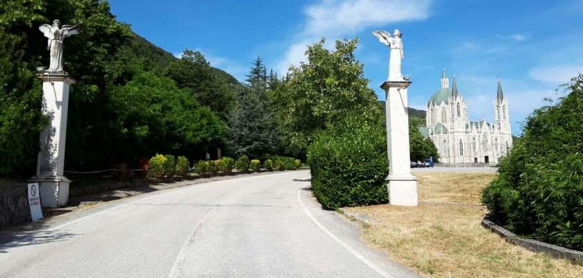 Il santuario di Maria Santissima Addolorata
