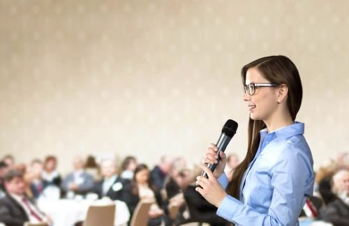 El reto de hablar en público