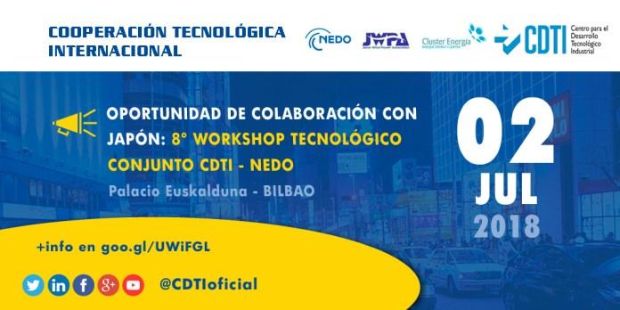 Taller CDTI - NEDO en Bilbao
