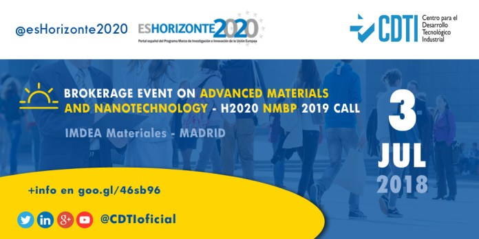 BROKERAGE EVENT NMBP ON ADVANCED MATERIALS AND NANOTECHNOLOGY
