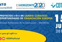 Proyectos de I+D+I en Cambio Climático: Oportunidades de Financiación Europeas