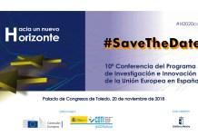 #Horizonte2020 | #SavetheDate 20.10.2018 Conferencia #H2020conf2018 @CDTIoficial @EsHorizonte2020 Hacia un nuevo Horizonte @EU_H2020 #H2020 #HorizonteEuropa #HorizonEU #HorizonteUE #HorizonEurope #eufunding #InvestEU