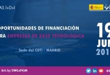 Jornada sobre Ayudas CDTI en Madrid
