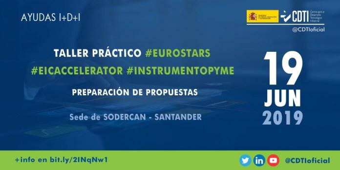 Taller EUROSTARS en Santander