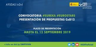 Convocatoria Eurostars 2019