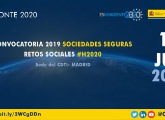Presentación convocatoria sociedades seguras Horizonte 2020