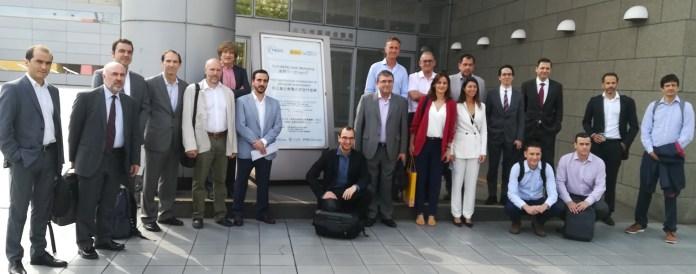 Representantes del encuentro bilateral España-Japón