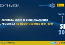 Consulta funcionamiento Horizonte Europa