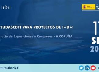 Presentación ayudasCDTI en A Coruña