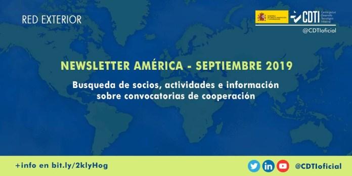 Newsletter septiembre innovación y tecnología en América