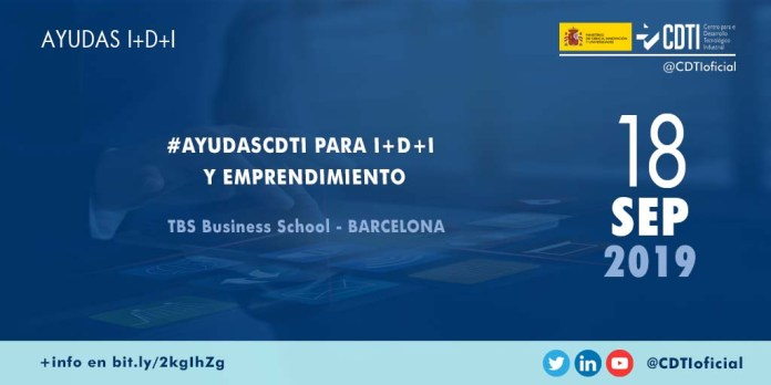 Evento AyudasCDTI Barcelona