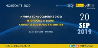 Presentación convocatorias Horizonte 2020 reto social 1