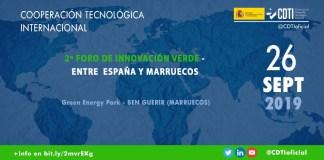 Foro innovación verde España Marruecos