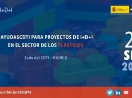 Jornada ayudasCDTI para el sector de los plásticos