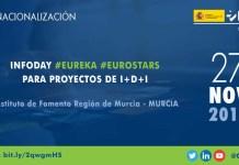 infoday ayudas eureka eurostars murcia