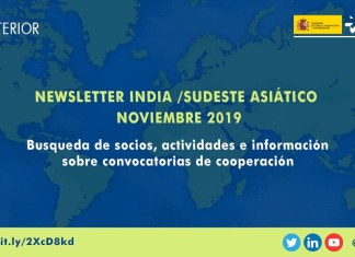 newsletter noviembre 2019 india sudeste asiatico