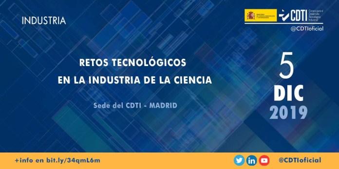 retos tecnológicos de la industria de la ciencia