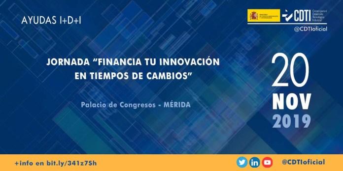 jornada financiacion innovacion merida