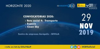 infoday h2020 transporte espacio clean sky